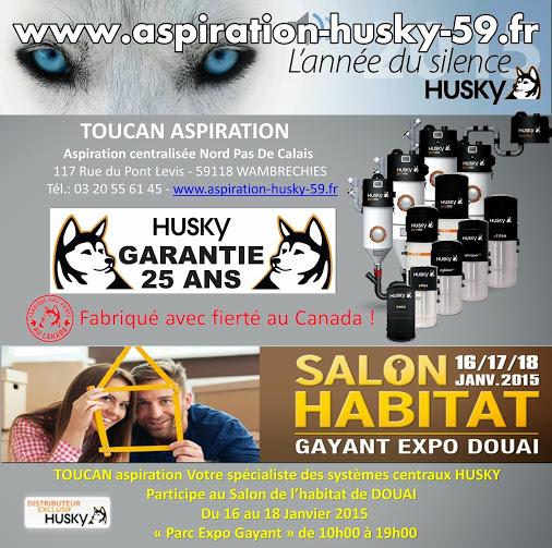 Salon habitat douai 2015 aspiration centralis e husky - Salon du chiot douai ...