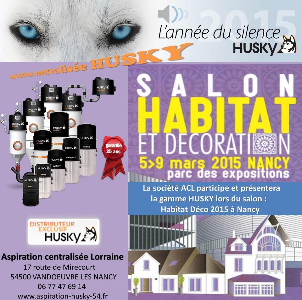 Salon habitat d co nancy aspiration centralis e for Salon habitat nancy