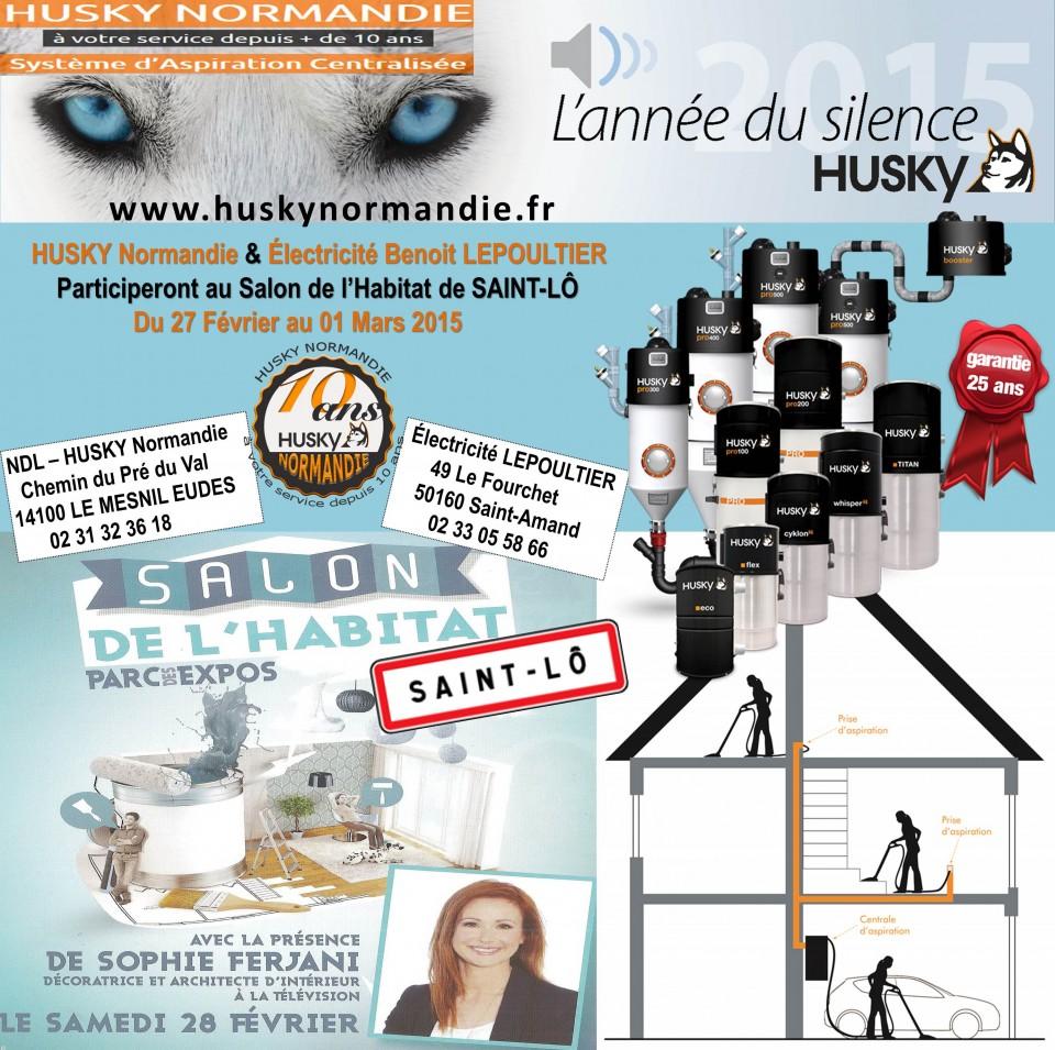 salon habitat de saint l aspiration centralis e husky france. Black Bedroom Furniture Sets. Home Design Ideas