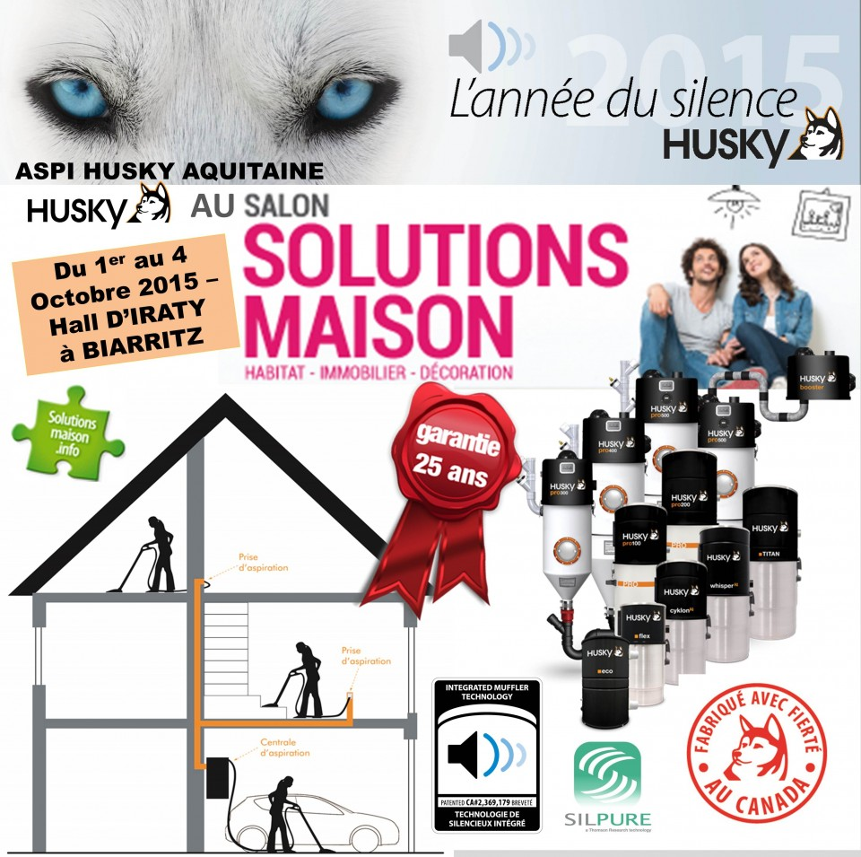 Salon solutions maison 2015 biarritz aspiration for Salon solutions