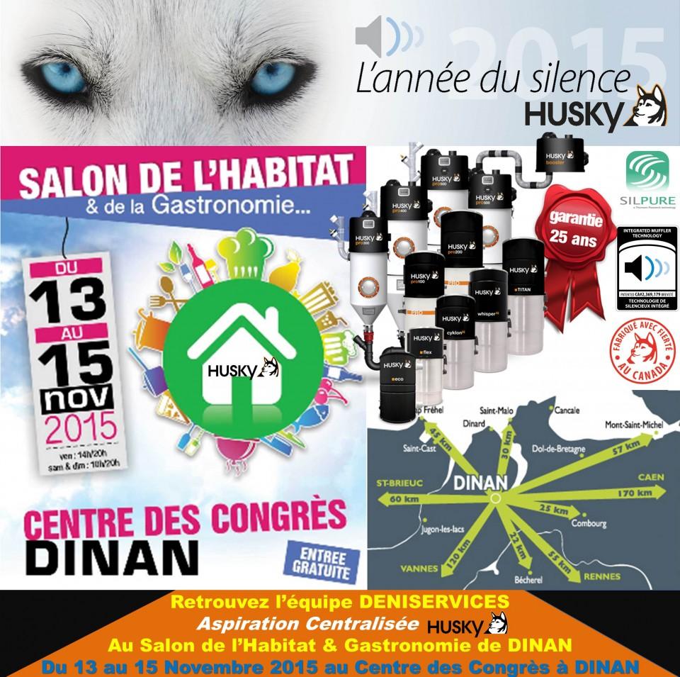 Salon de l habitat et de la gastronomie 2015 dinan for Salon de l habitat bretagne