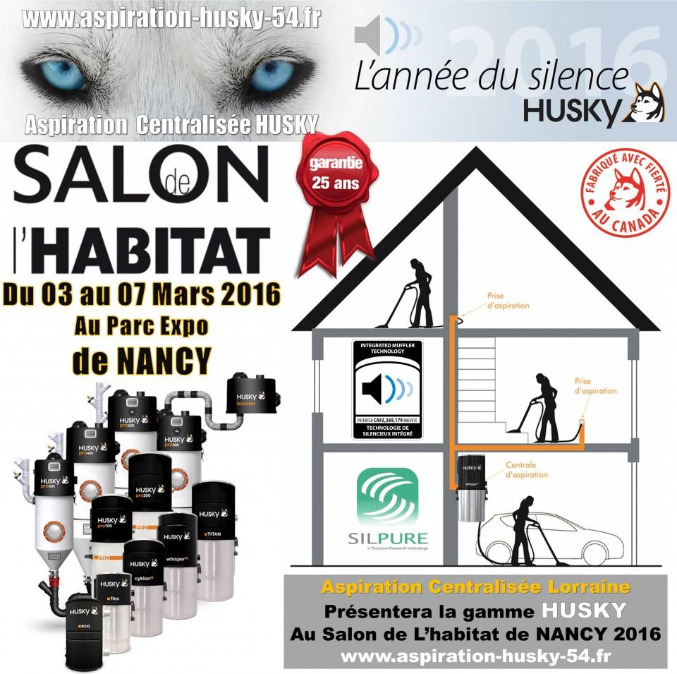 Salon habitat deco 2016 nancy aspiration centralis e for Salon de l habitat nancy