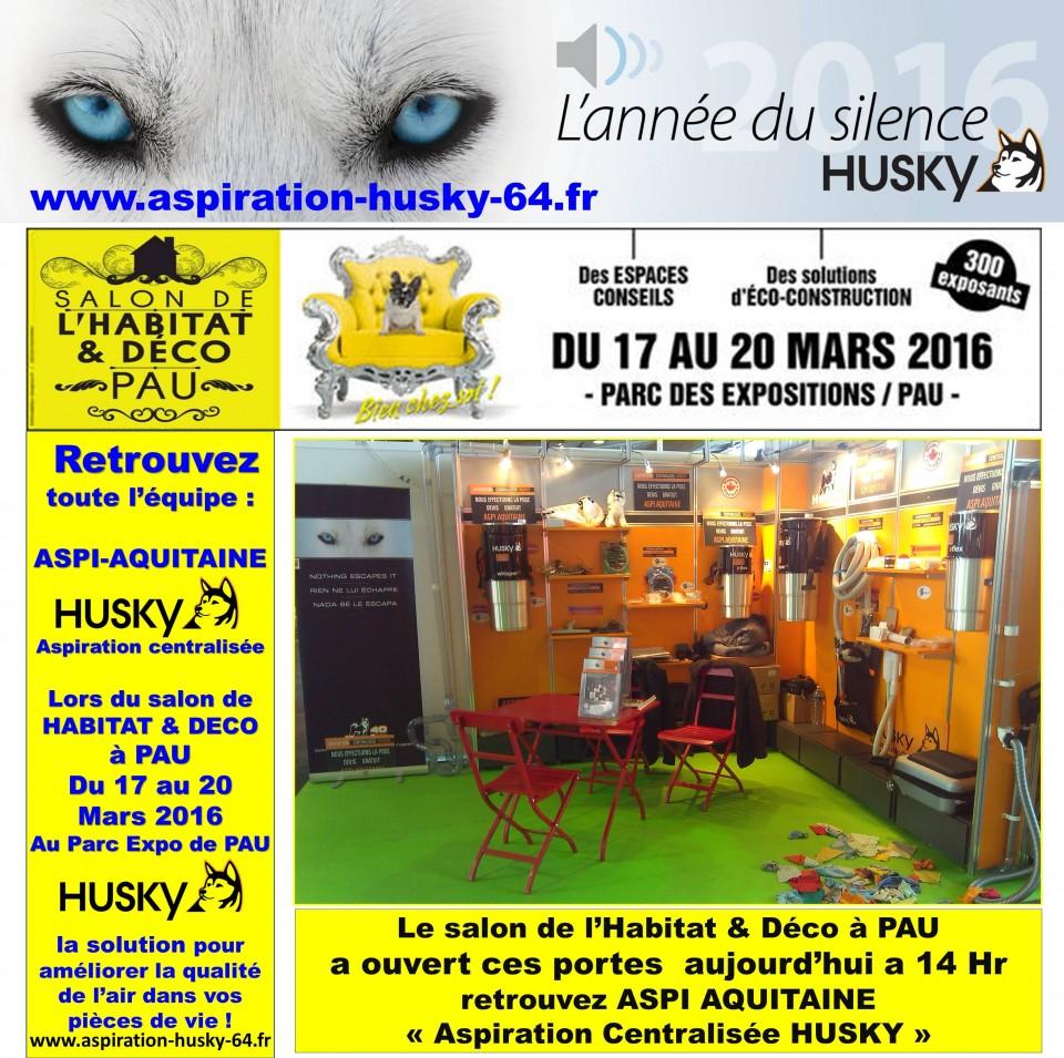 Aspiration centralis e au salon habitat d co de pau 2016 for Salon de l habitat rochefort
