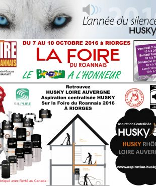 L'aspiration centralisée sur la Foire du Roannais 2016 à RIORGES