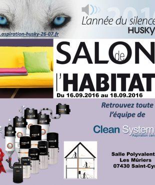 Aspiration centralisée, salon de l'habitat du Dauphiné à Saint Cyr