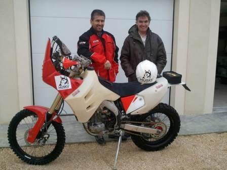 Aspiration centralisée Husky -Rallye Dakar