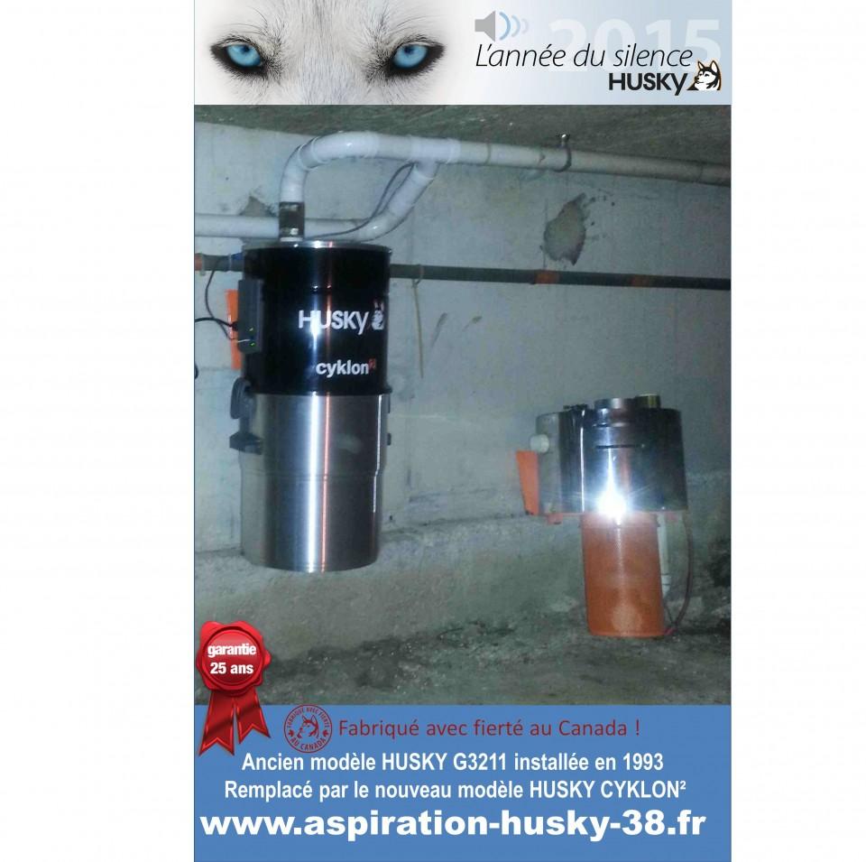 aspiration centralisée husky modèle année 1993 » aspiration